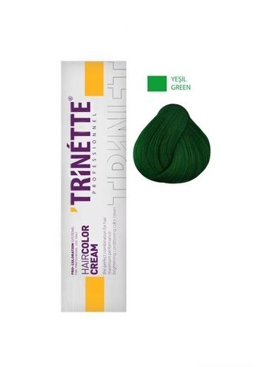 Trinette Profesyonel Saç Boyası Yeşil 60 ml Renksiz